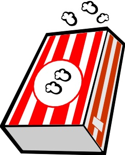 244x302 Popcorn Clip Art Images Free Free Clipart Images