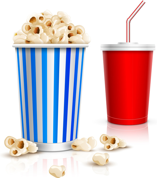 528x600 Popcorn Free Vector Download (52 Free Vector) For Commercial Use