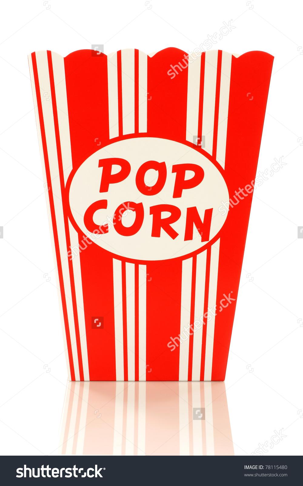 1000x1600 Popcorn Box Clipart
