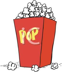 258x300 Box Of Popcorn
