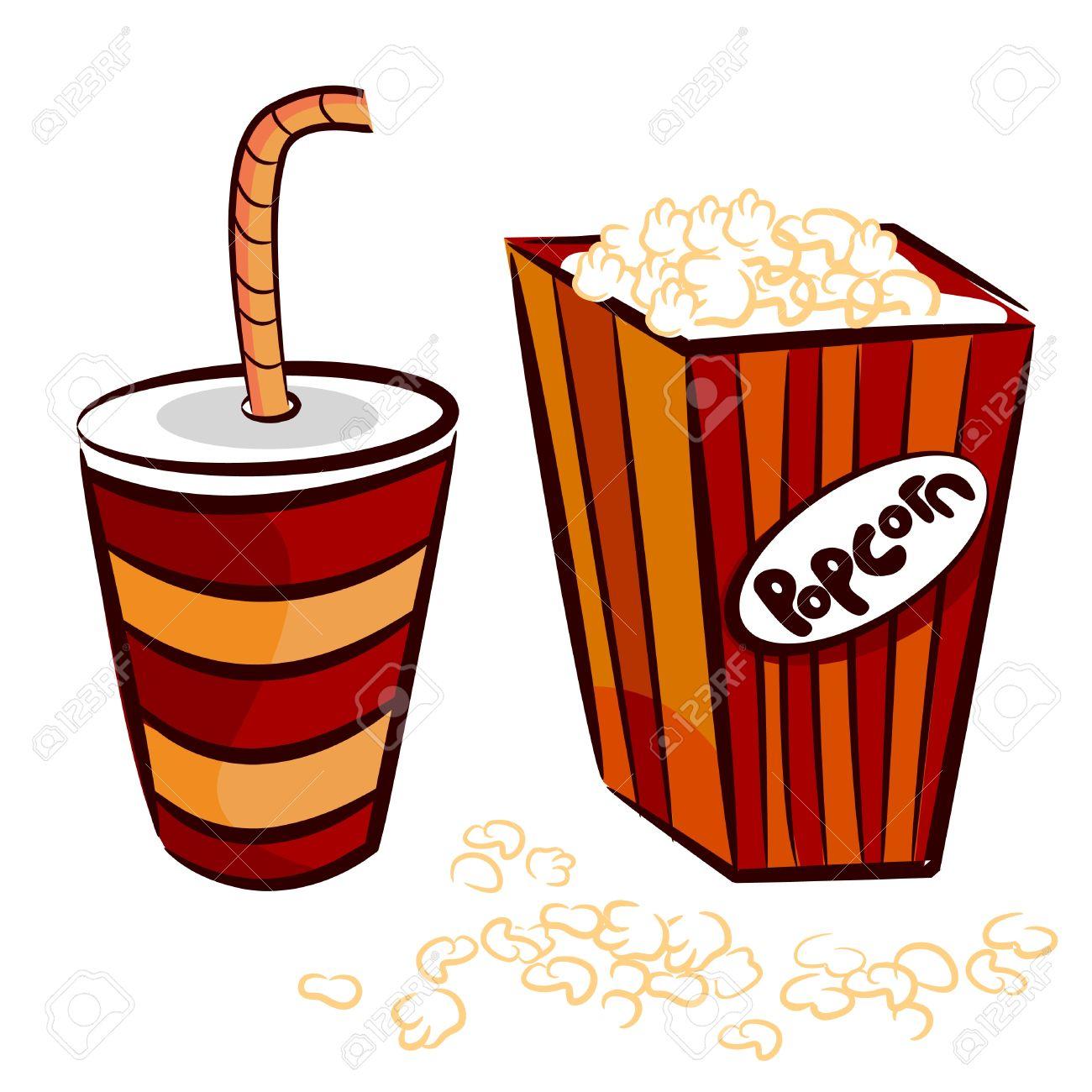 Popcorn Clipart