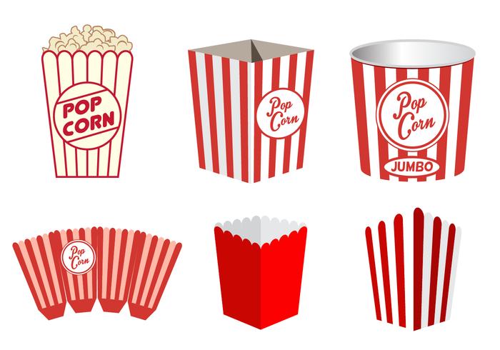 700x490 Popcorn clipart vector