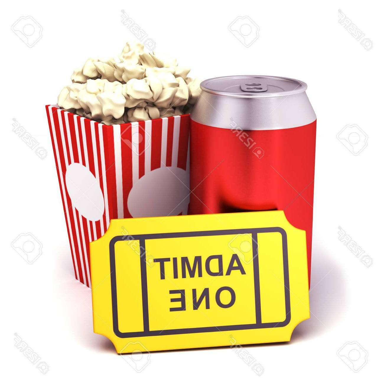 1300x1300 Top Soda Popcorn Stock Photo Design
