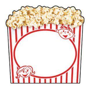 Popcorn Outline