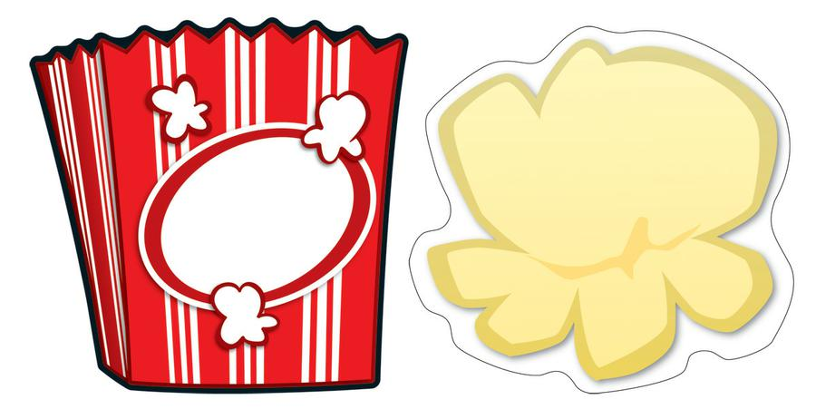 graphic regarding Popcorn Printable titled Popcorn Template Free of charge obtain great Popcorn Template upon