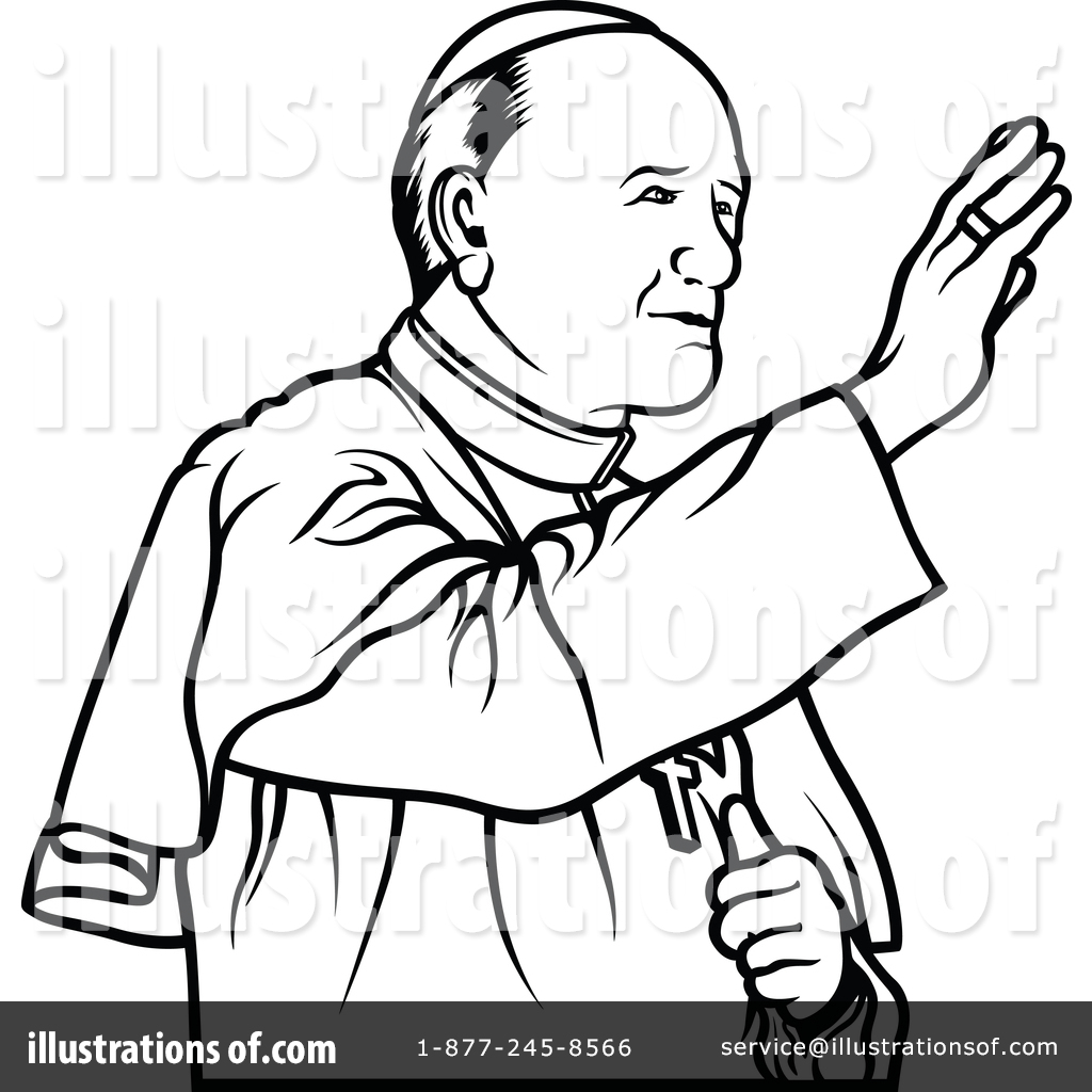 1024x1024 Pope Clipart