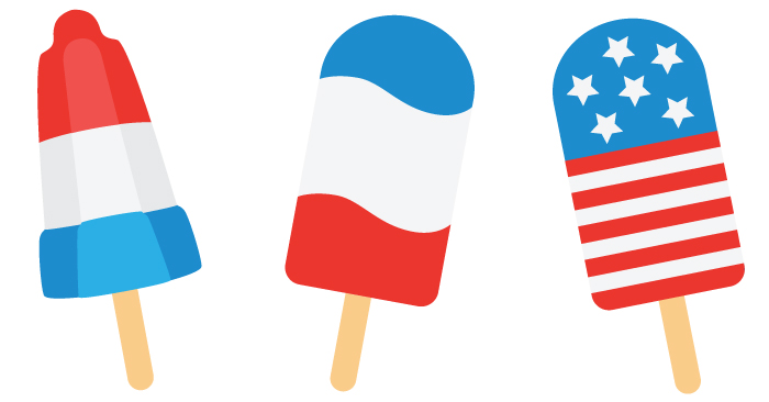 700x366 4th Of July Popsicle Cut Files + Clip Art
