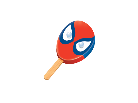 460x345 Popsicle Spiderman Face Bar Shop Sweetheart Ice Cream