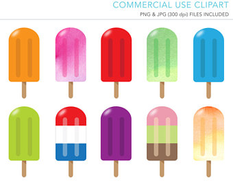 340x270 Popsicle Clipart Etsy