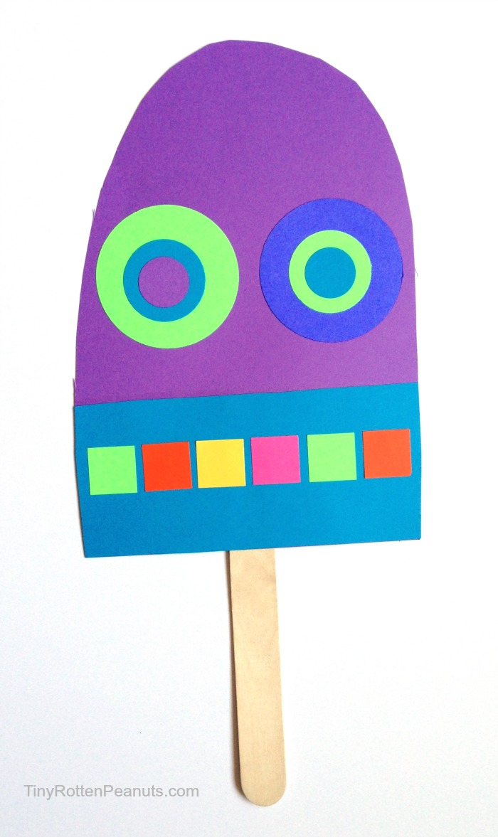 700x1177 Giant Paper Popsicle Craft Craftwhack