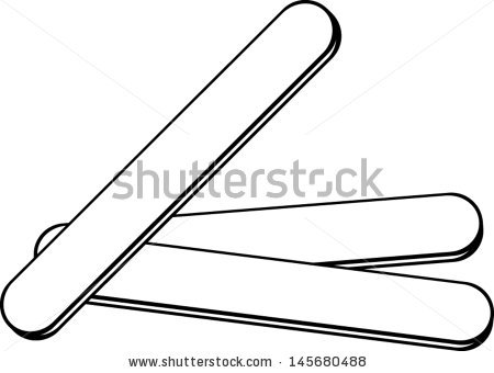450x340 Popsicle Stick Clipart