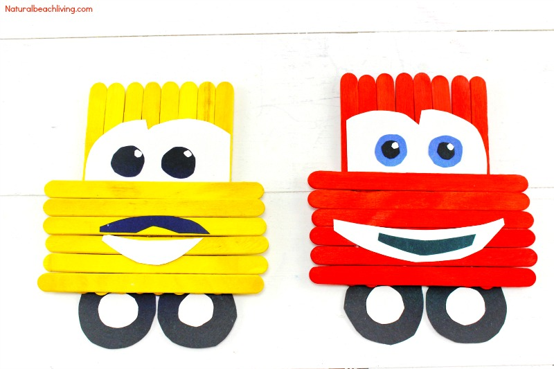800x533 Cars Popsicle Stick Crafts 5t