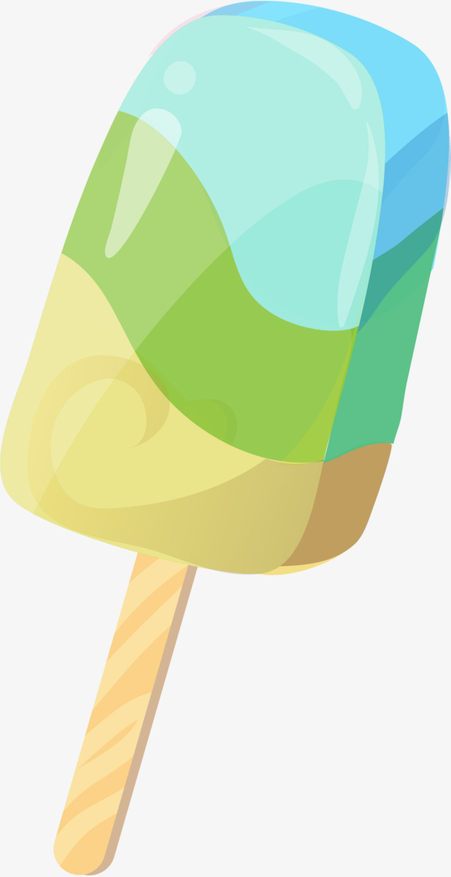 650x1263 Color Stripe Popsicle, Summer Popsicle, Ice Cream, Cool Summer Png