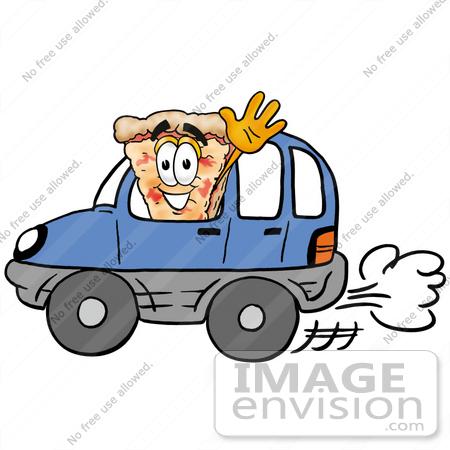 450x450 Stick Pizza Delivery Man Clipart