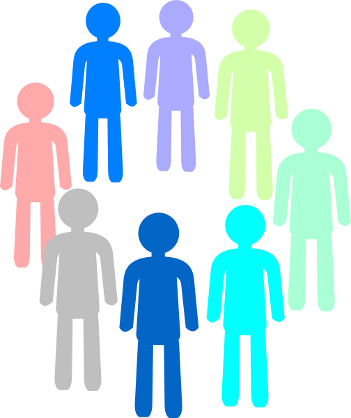 504x600 Population Color Group Clip Art