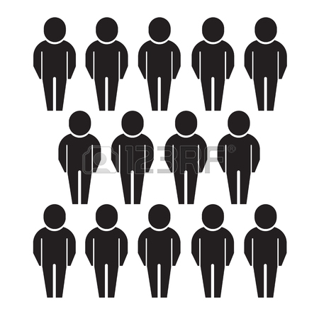 450x450 Population People Icon Illustration Design Royalty Free Cliparts