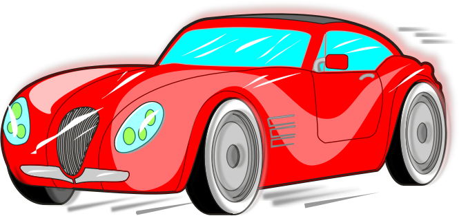 665x314 Sports Car Free To Use Clip Art 4