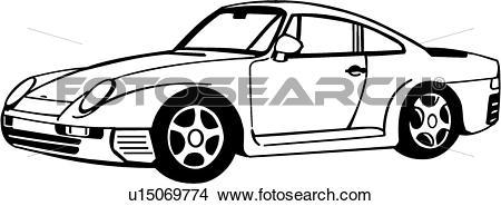 450x185 Porsche Clipart