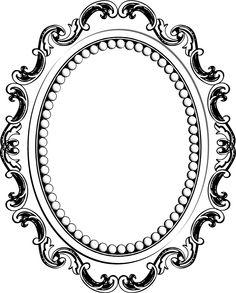 236x293 Baroque Frames Clipart Clip Art, Vintage Frames Borders Clipart