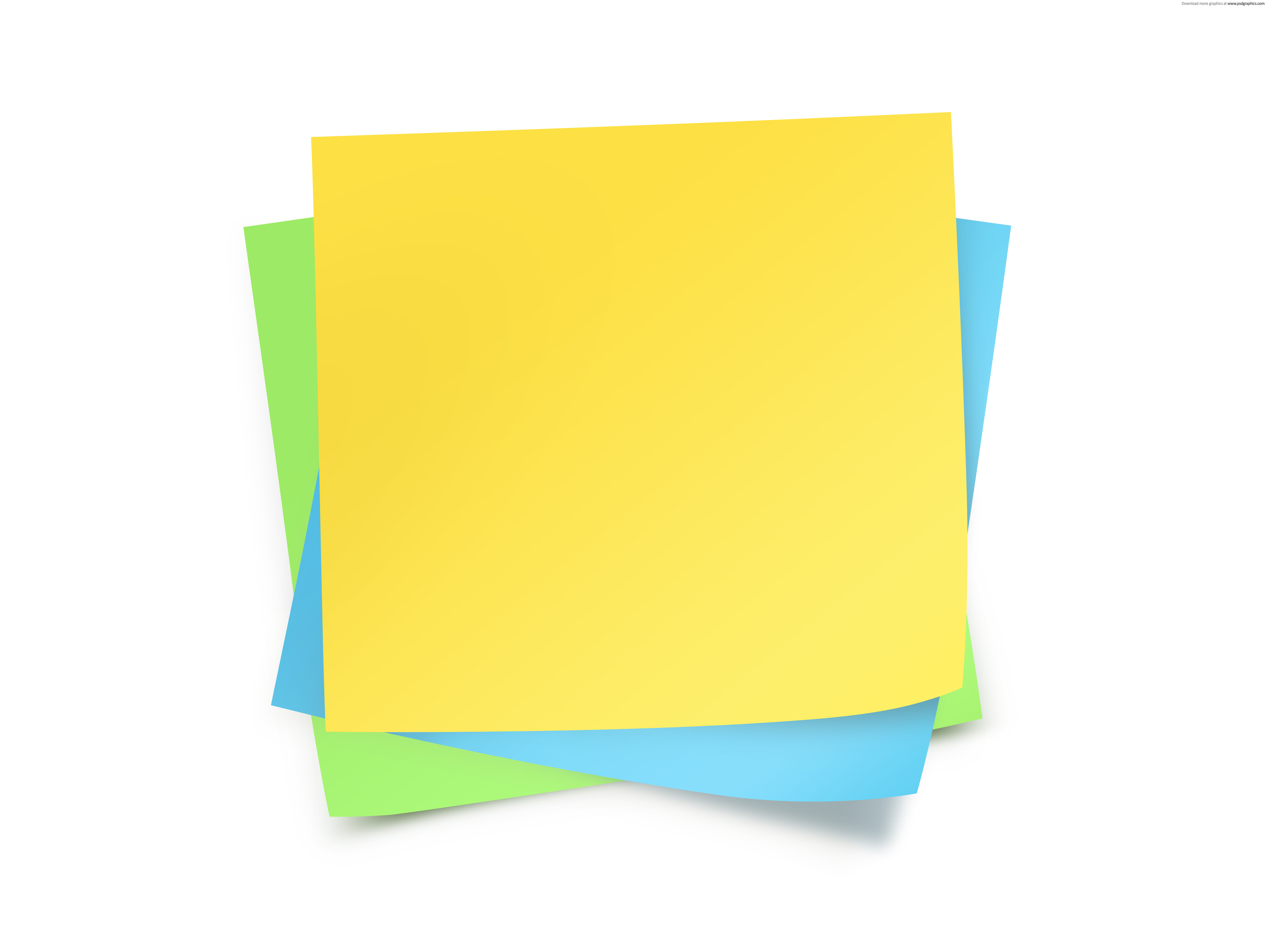 4750x3563 Post It Notes Images Clipart Free To Use Clip Art Resource