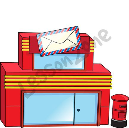 Post Office Building Clipart | Free download best Post ...