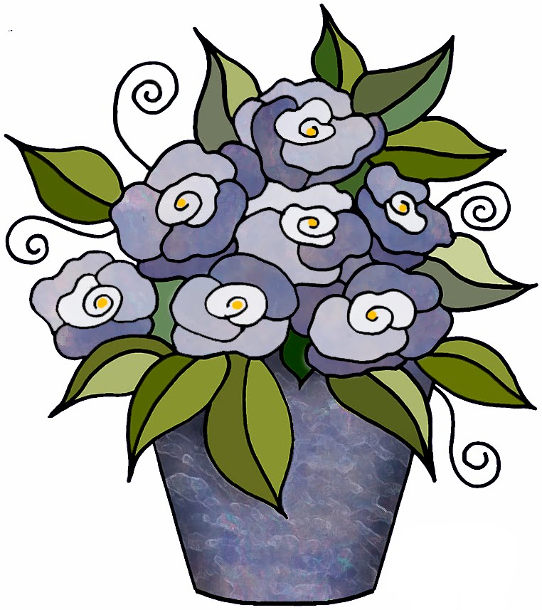 762x857 Artbyjean Clipart Flower Pot Flower Blossoms In A Flower Pot
