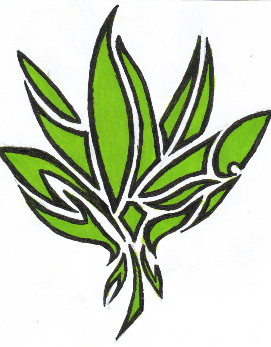 900x1153 Drawing Of Pot Leaf How To Draw A Pot Leaf, Stepstep, Tattoos, Pop