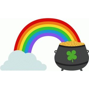 Pot Of Gold Clipart