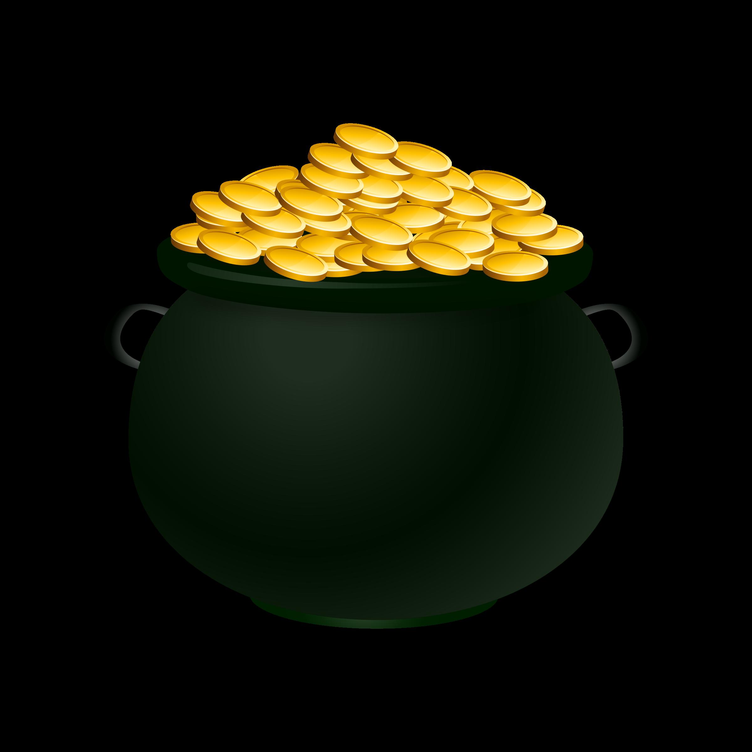 2400x2400 Pot Of Gold Clip Art Many Interesting Cliparts