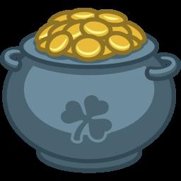256x256 Pot Of Gold Icon St. Patricks Day Iconset