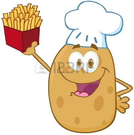 Potato Chips Clipart