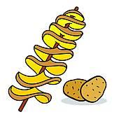 170x170 Potato Crisps Clip Art