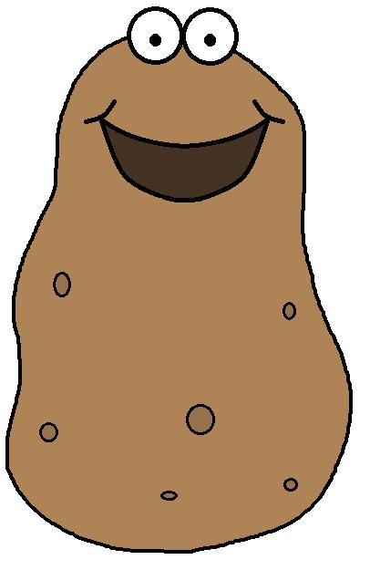 406x625 Potato Clipart 2