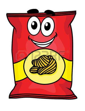 345x450 Snack Clipart Potato Chip