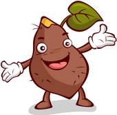 170x167 Clipart Of Roasted Sweet Potato, Snacks, Roasted Sweet Potatoes
