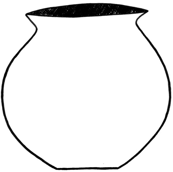 600x598 Clay Pot Clipart Kid 2