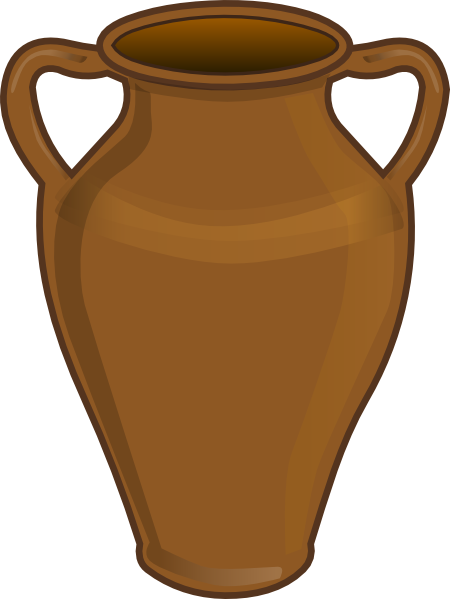 450x599 Clay Jar Clip Art
