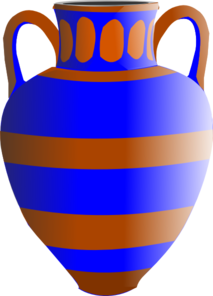 213x296 Eqyptian Vase Clip Art