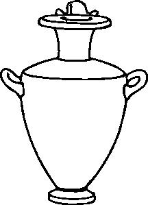 216x299 Greek Amphora Pottery Clip Art