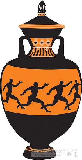 282x550 Ancient Clipart Greek Pottery