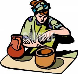 300x285 Ceramic Clipart Potter