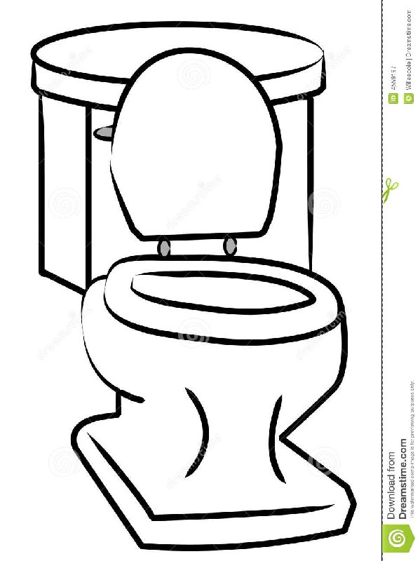 599x800 I Have To Potty Clipart