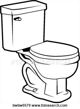 274x370 Toilet Clipart Black And White