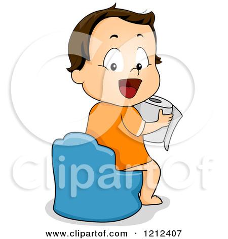 450x470 Toilet Clipart Boy Potty