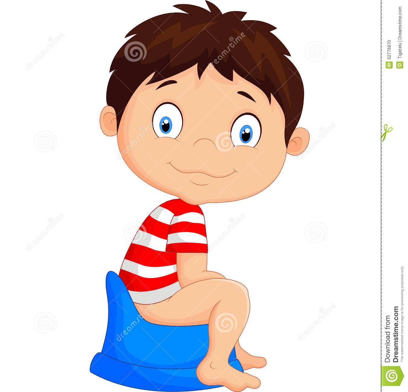1352x1300 Little Boy Clipart Boy Potty