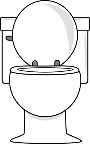 312x500 Toilets Clip Art And Graphics