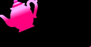 299x156 Pink Teapot Pouring Clip Art
