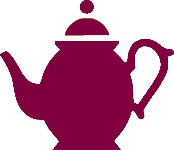 600x517 Teapot Pouring Magenta Clip Art