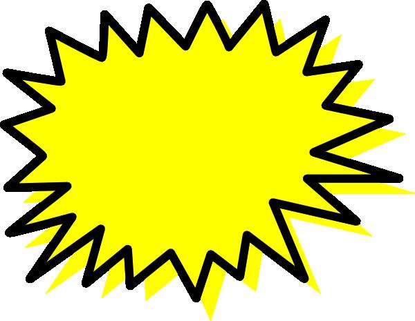 600x465 Explosion Blank Pow Clip Art