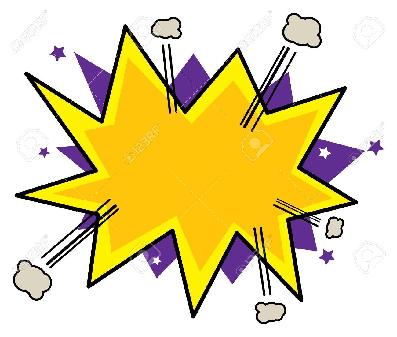 1300x1101 Explosion Clipart Pow